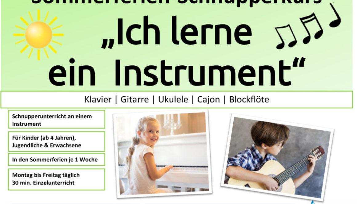 Aushang_2020_Ferienprogramm_Sommer_Instrument-Schnupper-1