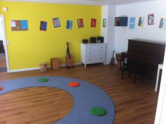 Die Musikschule von innen.
