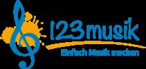 Logo 123musik - Einfach Musik machen